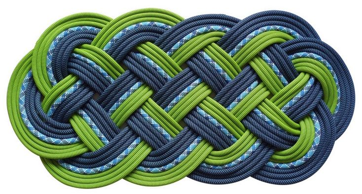 Climbing rope rug let 39 s make this pinterest rope for Rope carpet