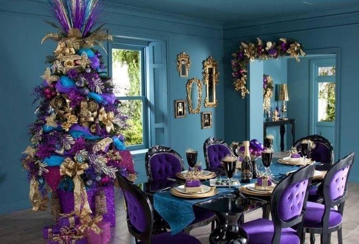 salle 224 manger baroque dans un int 233 rieur contemporain baroque violettes et design