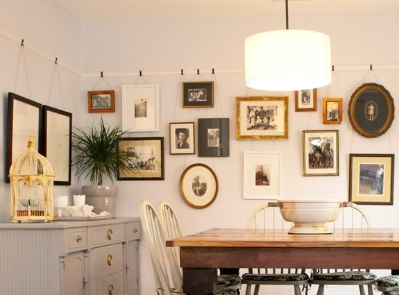 Bend Me Shape Me 5 Unique Ways to Hang Artwork. Hanging Wall ArtWall ... & 329 best Art + Wall Styling images on Pinterest | Art walls Family ...
