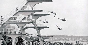 79 best echo of deco images on pinterest art deco art - St mary s school bexhill swimming pool ...