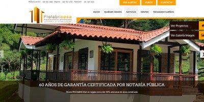 Pagina web Prefabricasa