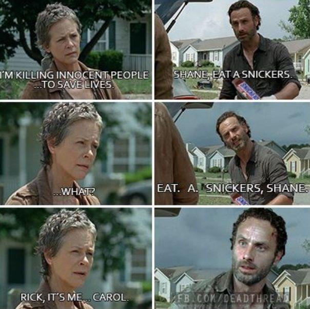 Walking Dead Meme Season 4 Carol The walking dea...