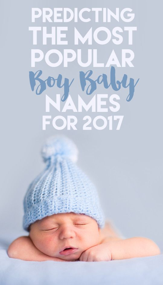 Predicting the Most Popular Boy Baby Names for 2017