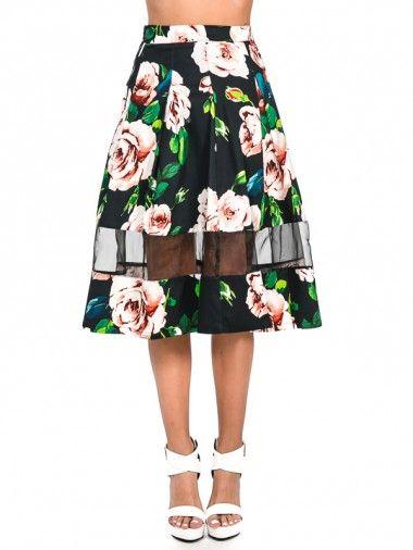 Swift Rose Skirt – Black $47.95