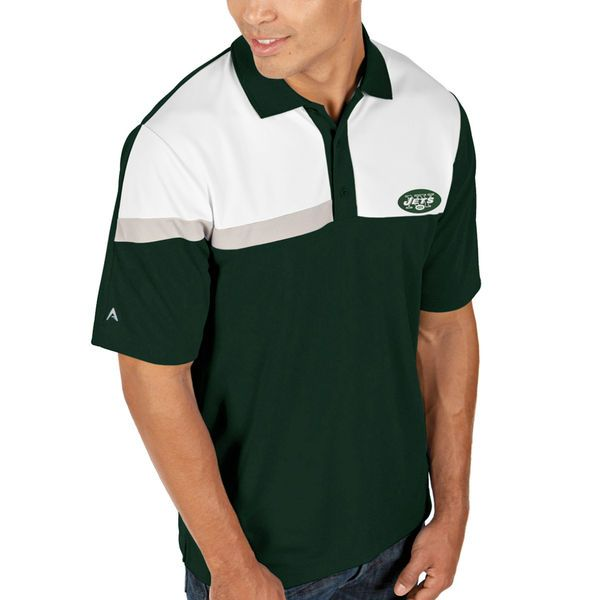 Antigua New York Jets Players Polo - Green - $44.99