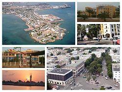 Djibouti - capital: Djibouti - photos: Panorama of Djibouti City