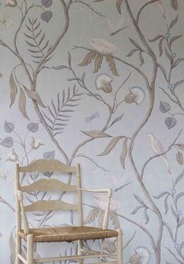 Adam's Eden wide width wallpaper.