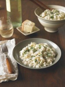 Fettucine Alfredo from the Wheat Belly Cookbook