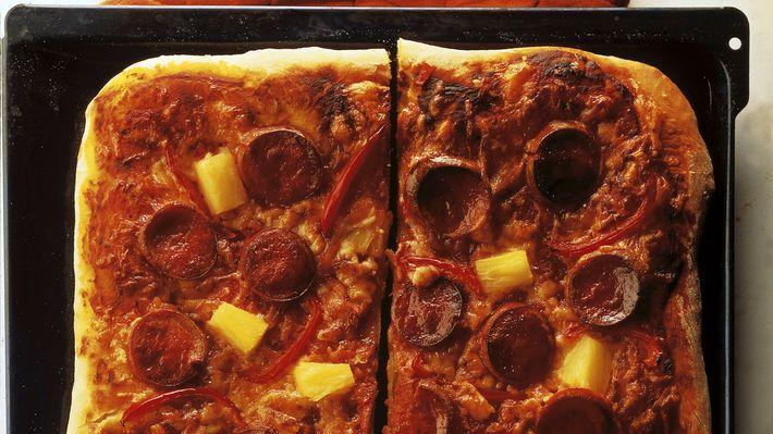 MatPrat - Pølsepizza