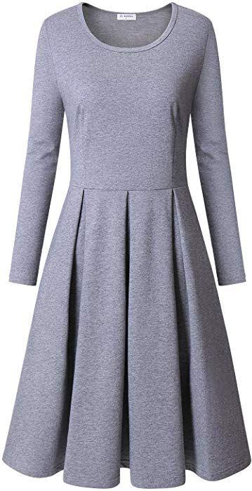 Kleid grau amazon