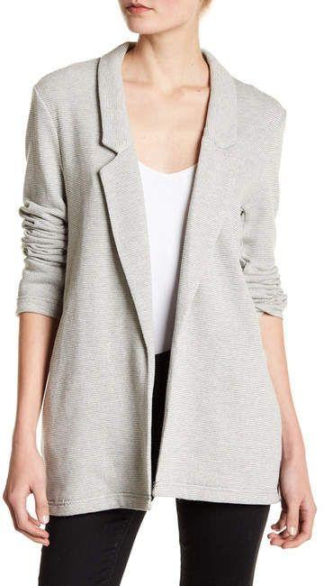 Womens petite cotton blazer — 10