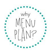 Use these paid or free menu planning templates and this tutorial on how to make a menu planner that you can use for all three meals for the whole year.