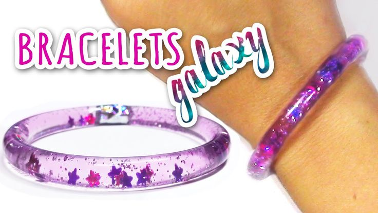 DIY crafts: Water bracelets - Innova Crafts How to make water bracelets, very easy! ✂ MATERIALS: - Plastic tube 6mm Ø - Water - Glitter - Hot glue - Adhesive...