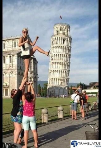 Image result for funny travelling people illusion