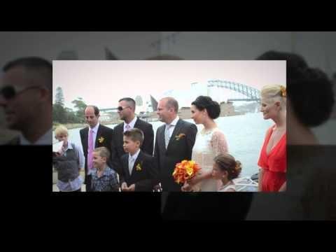 Melanie & Car Wedding on Sydney Harbour
