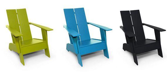 BELLE VIVIR: Interior Design Blog   Lifestyle   Home Decor: Modern Adirondack Chairs