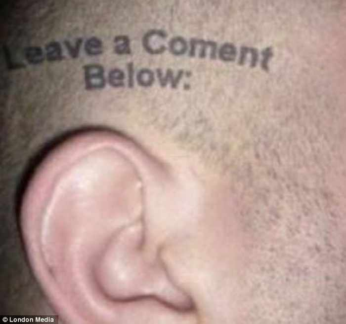 Hilarious Photos of Misspelled Tattoos Of The Day 47 Pics  Page 6 of 47