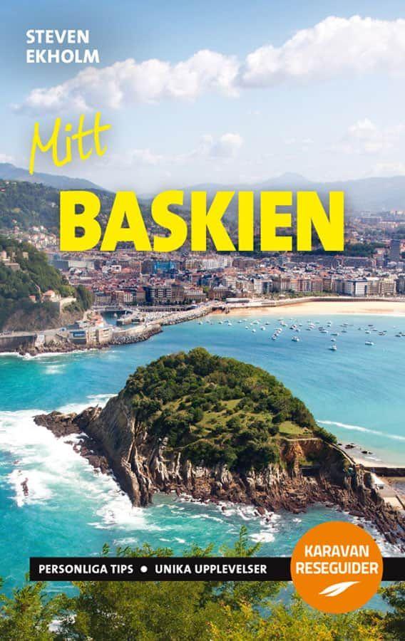 """Reseguiden """"Mitt Baskien"""" av Steven Ekholm."""