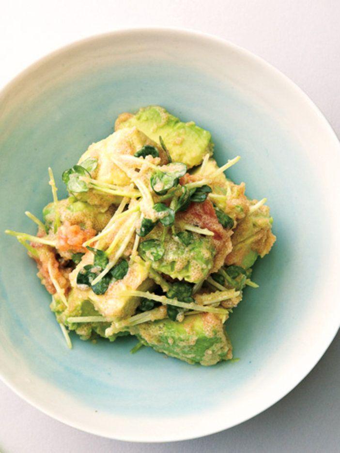 爽やかな味わいの和風サラダ。パスタにしても楽しめる!|『ELLE a table』はおしゃれで簡単なレシピが満載!