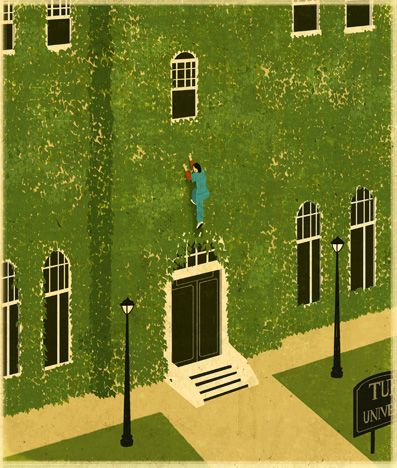 Escaping from Ivy college - Emiliano Ponzi