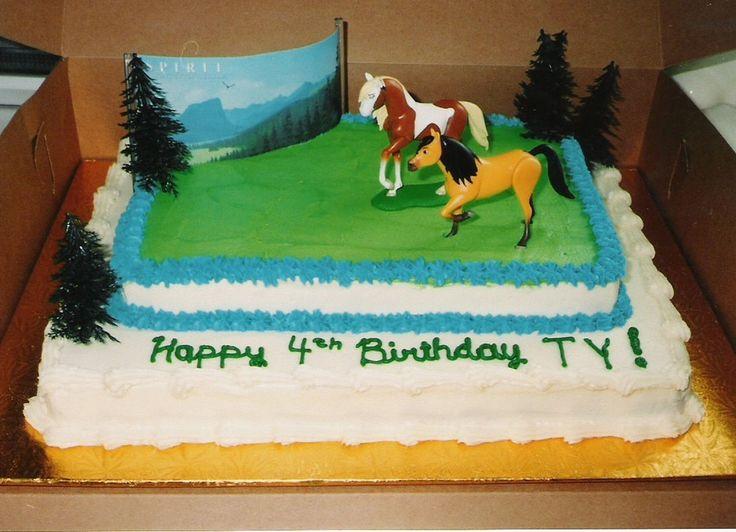 Spirit Horse Birthday Cake cakepins.com