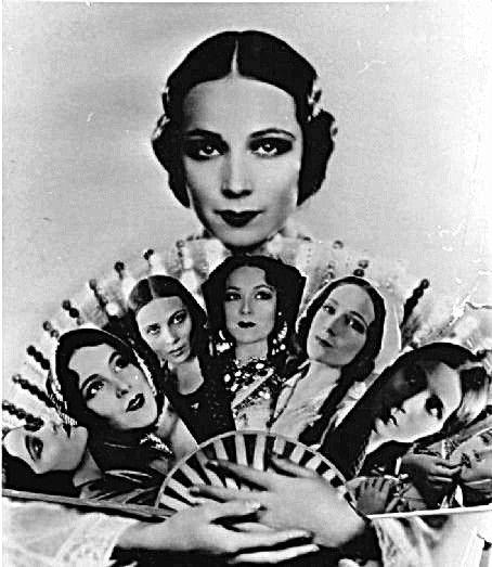 Del Río en la cresta de la ola. Terminando la era del cine mudo se prepara para el cine sonoro. Su entrada sería triunfal. Superaba en fama a Greta Garbo. El público había caído rendido frente a sus interpretaciones. Su fama no se debía sólo a su belleza extraordinaria.