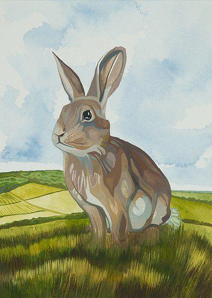 """La colina de Watership. Obra del escritor inglés Richard Adams, publicada en 1972, la cual a pesar de ser calificada como  """"narrativa infantil"""", habla sobre la sociedad y las complejidades humanas través de unos personajes que son conejos."""
