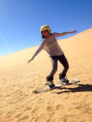 Sandboarding_ Namib Desert