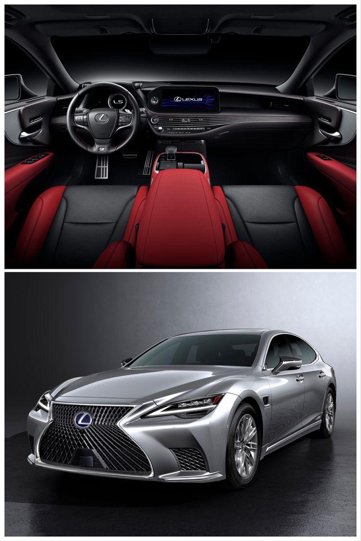 2021 Lexus LS a Touchscreen Infotainment System