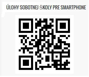 Úlohy sobotnej školy - 2.štvrťrok 2015 pre tvoj smartphone či tablet