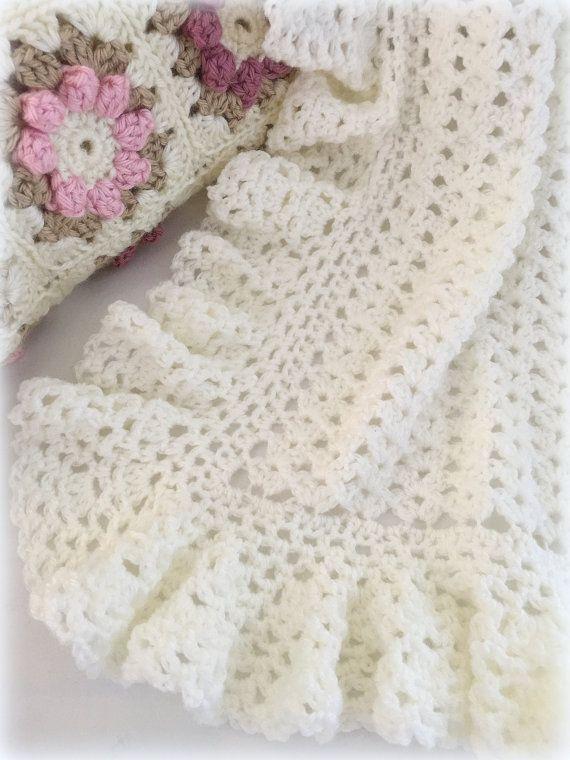 Crochet Pattern Crochet Baby Blanket Pattern Baby Blanket