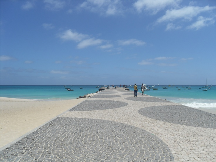 The Pier, Santa Maria, Sal, Cape Verde.
