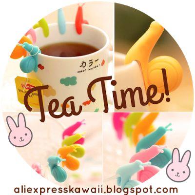 Aliexpress Kawaii Shopping: E' l'ora del tè! It's tea time!