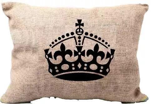 fundas almohadones vintage estampados arpillera tela 30x30