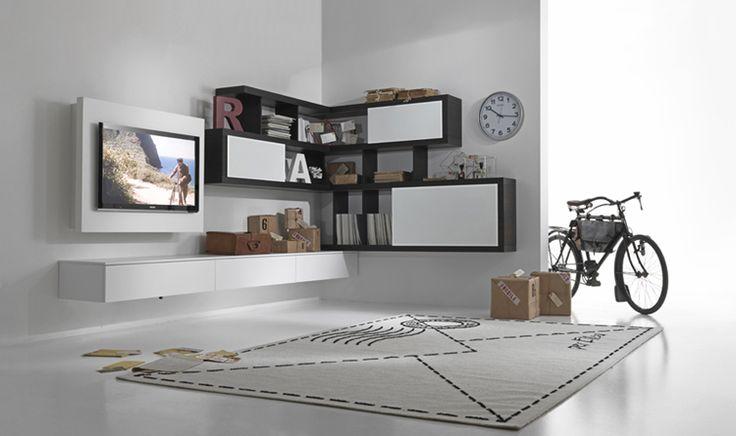 Mobile tv angolo. WelcomeHouseArredamenti: Arredamento Classico e Moderno