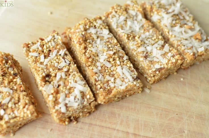 #Quinoa Coconut Granola Bars | Healthy Ideas for Kids