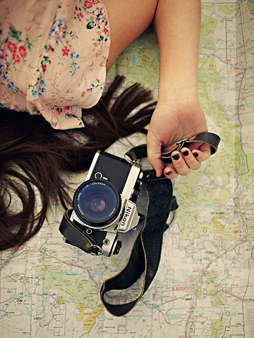 A Girl with her Camera & a Map // travel the world and photograph it