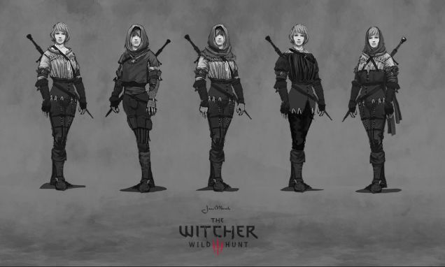 Now this is a treat. The Witcher 3 has easily been my favourite game of 2015 [Update: and now 2016 as well], so it's a pleasure to showcase a big collection of artwork that went into the game's development and promotion.