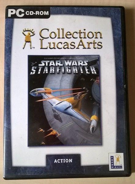 Collection LucasArts Jeux Vidéo pour PC - Star Wars -  Starfighter