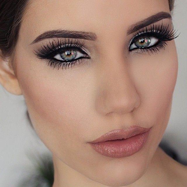 subtiles Make-up für die Hochzeit