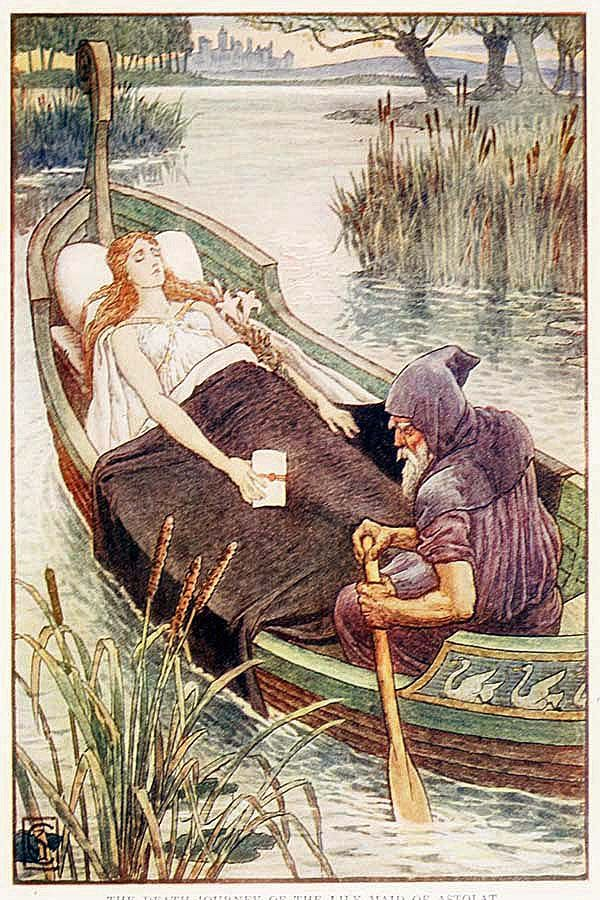 Walter Crane~ King Arthur's Knights                                                                                                                                                                                 More