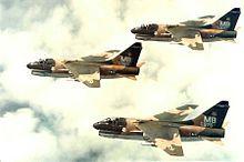 A-7D-7-CV Corsair II