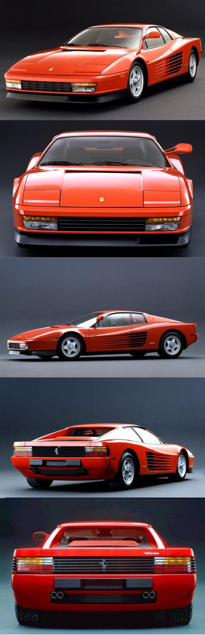 1984 Ferrari Testarossa So sah er zusammengebaut aus (als Modell natürlich ;-) ). Nur an den einzelnen hohen Seitenspiegel erinnere ich mich gerade nicht (muss ich mal bei den anderen Teilen nachschauen, die erst wieder eine Rolle spielen, wenn das Modell an sich fährt), da mir das Modell meine Oma schenkte, als ich noch klein war. Und das kann gut vor 18 Jahren oder mehr gewesen sein. ;D