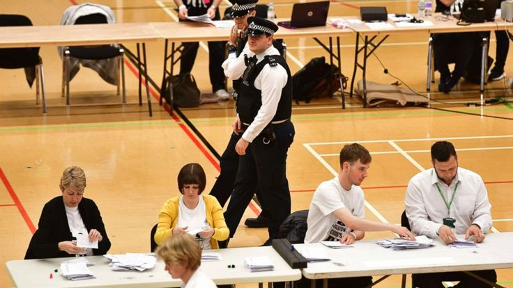 The Latest on Britain's parliamentary election (all times local):  7:55 a.m.  Britain's news media says Theresa May has no intention of giving up the post of prime minister even though her Conservative Party lost its majority in the House of Commons in Thursday's general... - #Intention, #Latest, #Media, #Resigning, #TopStories, #UK