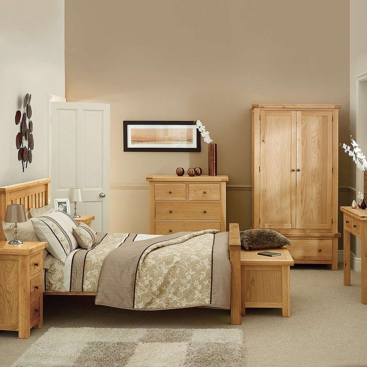 Harrogate Oak Bedroom Furniture Collection | Dunelm