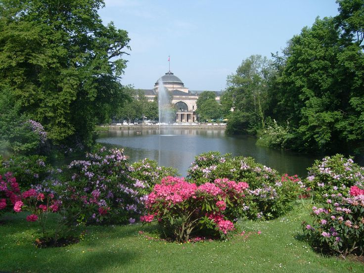 Kurpark, Wiesbaden Germany. Can't remember how many times I've walked this park