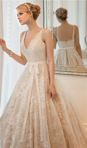 Klasické svatební šaty