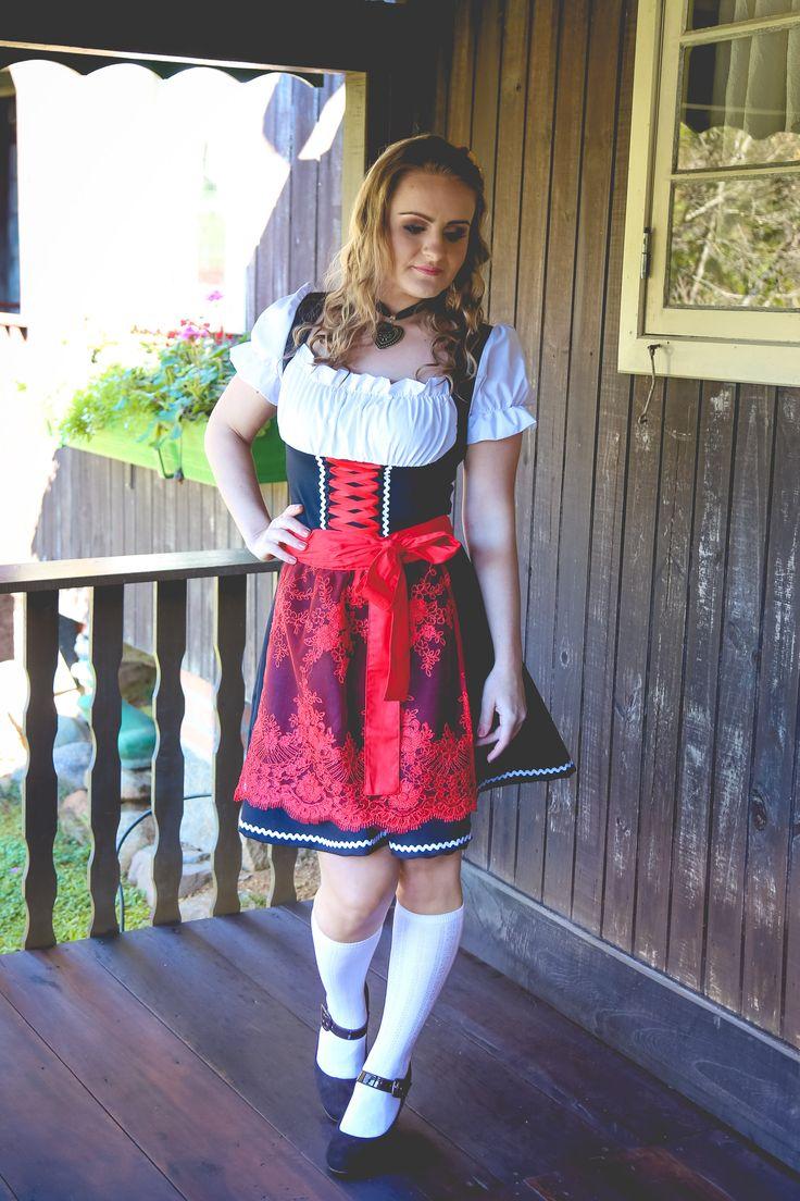 Nosso mundo encantado de tradição! Traje típico, vestido de frida, dirndl, Oktoberfest
