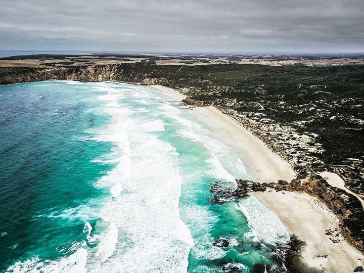 Pennington Bay Drohnenaufnahme Kangaroo Island