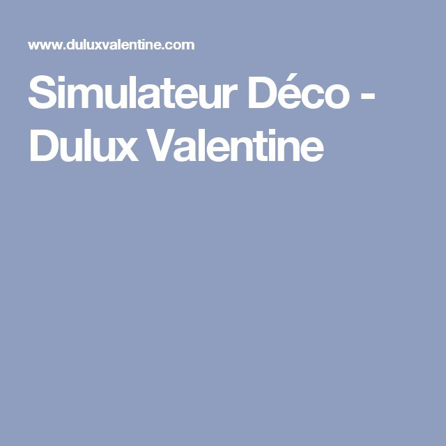 1000 id es sur le th me dulux valentine sur pinterest - Simulateur peinture castorama ...